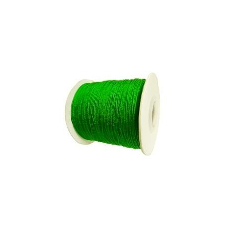 Satijnkoord 0,5mm groen 5 meter