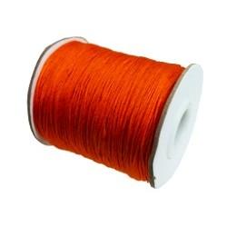 Satijnkoord 0,5mm oranje 5 meter