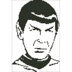 Borduurpakket Dr. Spock 16x24cm