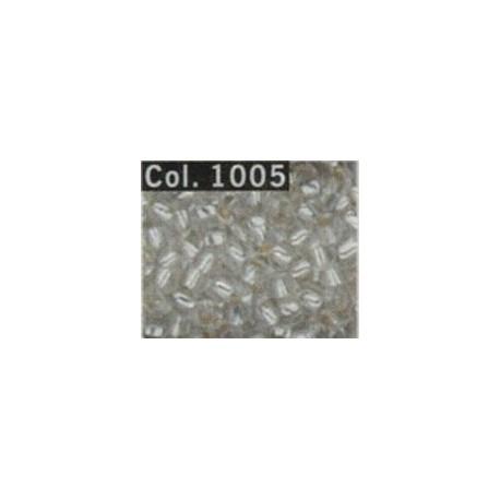 Gutermann rocailles 9/0 transp.zilver kern ca. 28