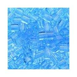 Miyuki square 4mm transp lichtblauw 100st.