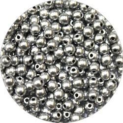 Glasparel 3mm mat zilverkl 200st.