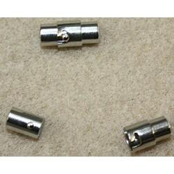 Bajonet/magneetsluiting 15,5mm voor 5mm leer/veter