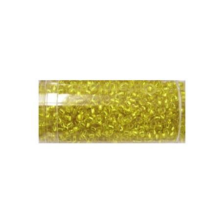 Gutermann rocailles 9/0 geel zilver kern ca. 28gr