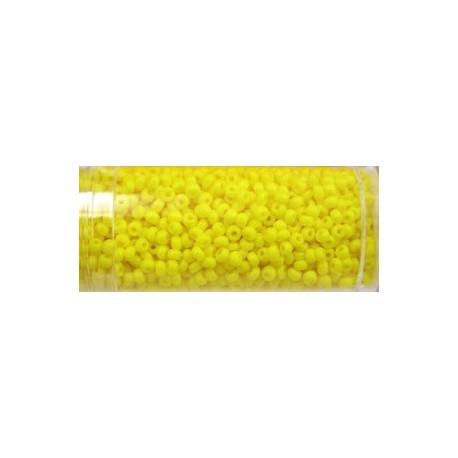 Gutermann rocailles 9/0 geel ca. 28 gr