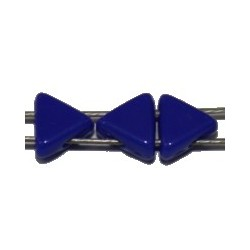 Tila driehoek 5,7mm blauw 25stuks