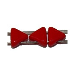 Tila driehoek 5,7mm rood 25stuks