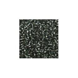 Miyuki rocailles 11/0 grey silverlined 25gr.