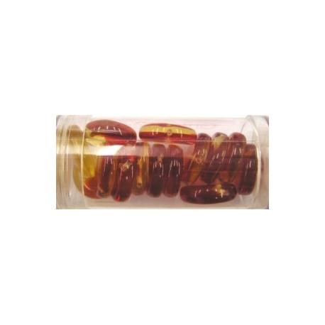 Guterman muntkraal 15mm oranje/rood ca.14st