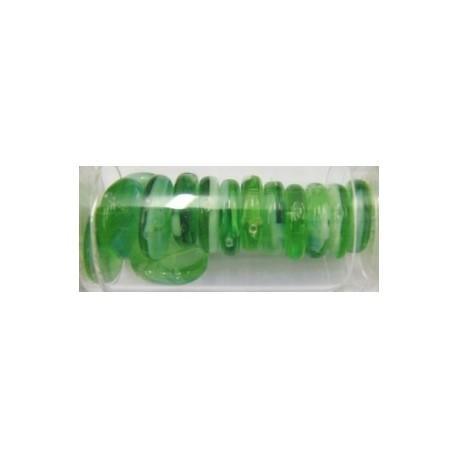 Guterman muntkraal 15mm groen/wit ca.14st