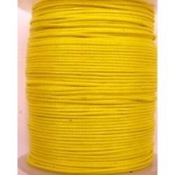 Waxcord 0,5mm donker geel 5meter