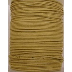 Waxcord 0,5mm naturel 5meter