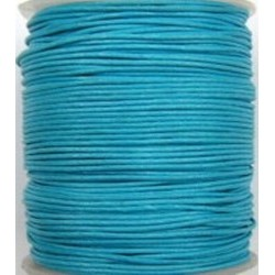 Waxcord 0,5mm turkoois 5meter
