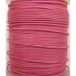 Waxcord 0,5mm donker rose 5meter