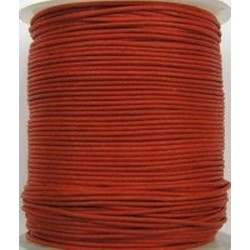 Waxcord 0,5mm donker rood 5meter