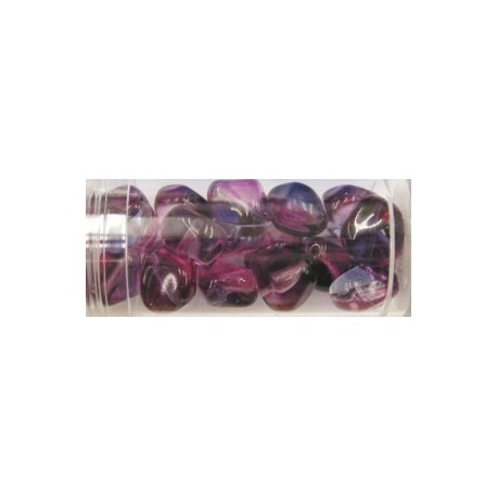 Gutermann multicolour 12mm lila/fuchsia ca 18st.