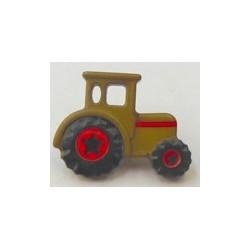 knoop tractor legergroen per stuk