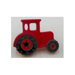 knoop tractor rood per stuk