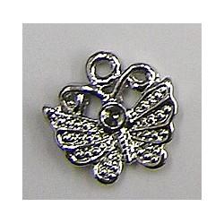 hanger vlinder 13mm voor 2mm simili