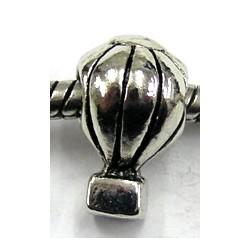 Pandorastyle kraal hete lucht ballon zilverkl.