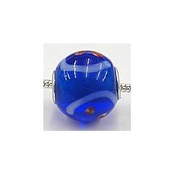 Pandorastyle 3mm gat blauw bewerkt
