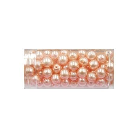 Gutermann glaskralen 6mm licht lila ca 100st