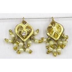 Hanger hartvorm 18mm goud p.st