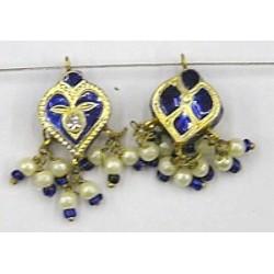 Hanger hartvorm 18mm blauw p.st