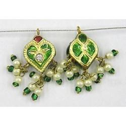 Hanger hartvorm 18mm groen p.st