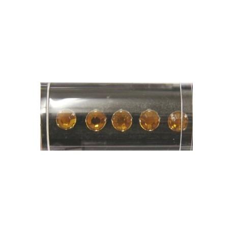 Gutermann opnaaistenen 7mm lichtbruin 10st