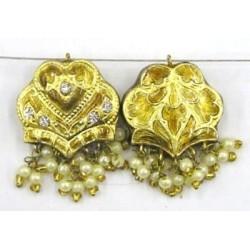 hanger groot hart 27mm goud p.st