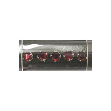 Gutermann opnaaistenen 7mm rood 10st
