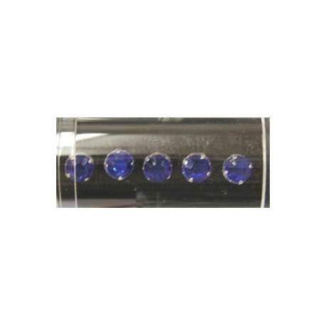 Gutermann opnaaistenen 7mm blauw 10st