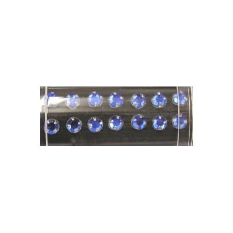 Gutermann opnaaistenen 5mm blauw 28st