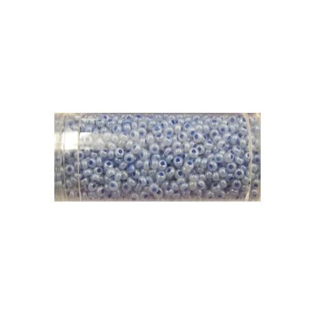 Gutermann rocailles 9/0 grijsblauw glanzend ca 28g