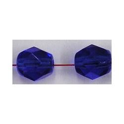Facetkraal 7mm donkerblauw 25st