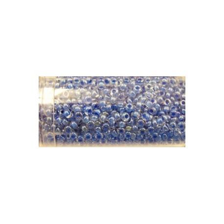 Gutermann rocailles 9/0 transparant blauw ca. 28gr