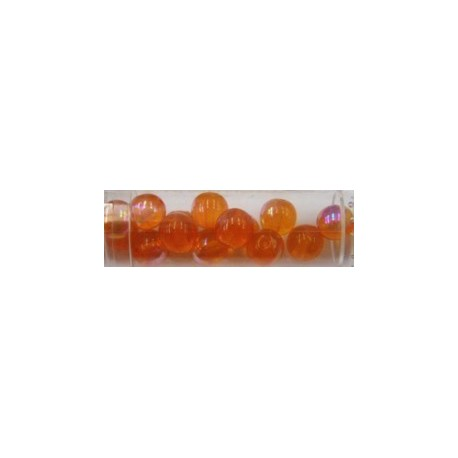 Gutermann regenboogkralen 8mm oranje 14st.