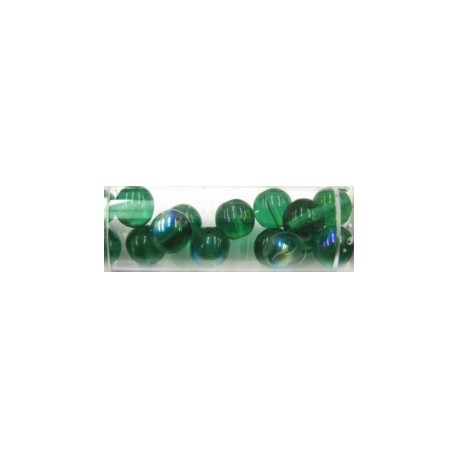 Gutermann regenboogparels 8mm groen 14st.