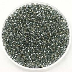 Miyuki rocailles 11/0 light grey silverlined 25gr.