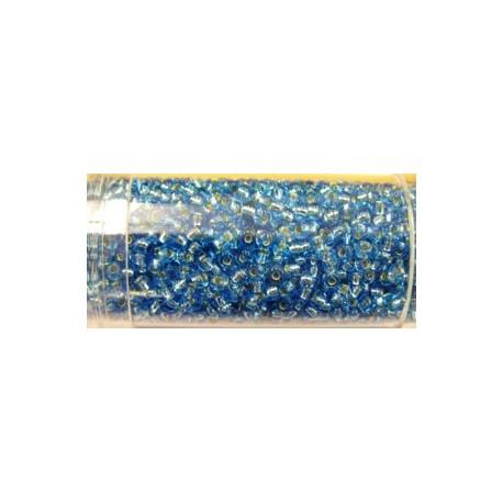 Gutermann rocailles 9/0 blauw zilver kern ca.28gr