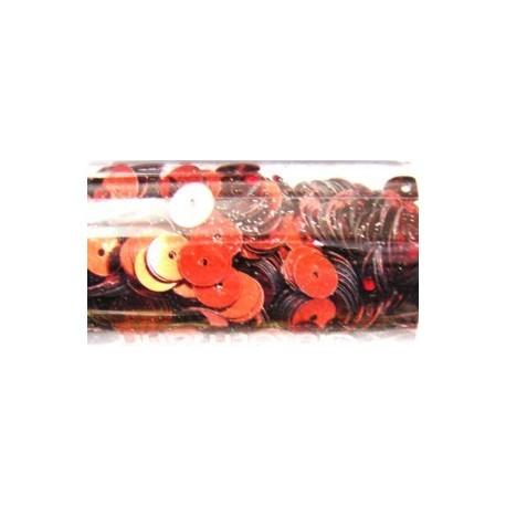 pailleten rond 6mm rood 9gram