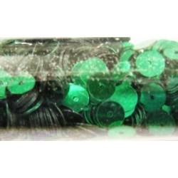 pailleten rond 6mm groen 9gram