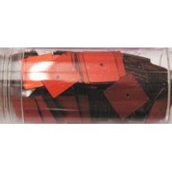 vierkante pailletten 10mm rood 8 gram