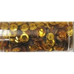 Gutermann pailletten 6mm cup oranje 9 gr