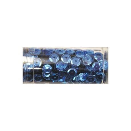 Gutermann pailletten 6mm cup lichtblauw 9 gr
