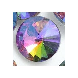 Swarovski 18mm rivoli multicolor AB p.st.