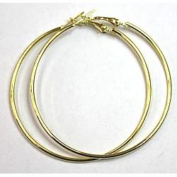 Oorringen creolen 6cm goudkl. p.p