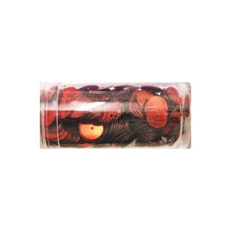 Gutermann pailetten 8mm disco rood 10.5gr