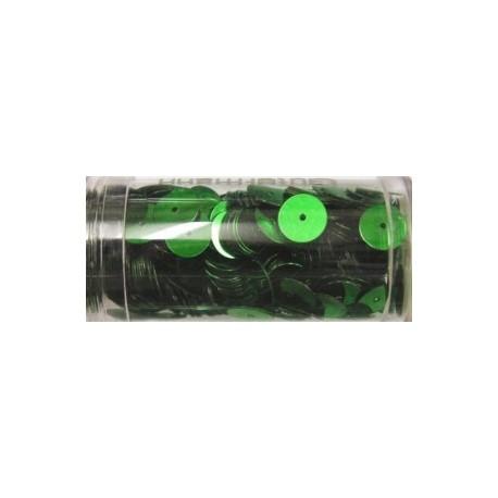 Gutermann pailletten 8mm rond groen 10.5gr.